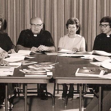 OLOL Parish Staff 1973-1974 Our Lady of Lourdes Milwaukee