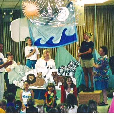 Child Ministry Noah's Ark 2002 Our Lady of Lourdes Milwaukee