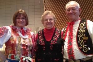 Kaniewskis at Polka Mass-2014