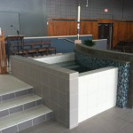Baptismal font Our Lady of Lourdes Milwaukee