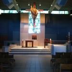 Altar Area Our Lady of Lourdes Milwaukee