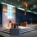 Altar Area Left Side Our Lady of Lourdes Milwaukee