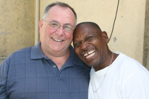 Fr. Gerry and Jean Baptise