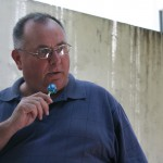 """Fr. Gerry and his """"microphone"""""""