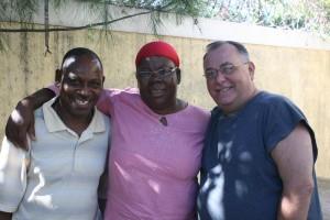 Jean Baptise, Lanitte, & Fr. Gerry