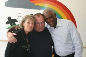 Robert & Danielle Pénette with Fr. Gerry