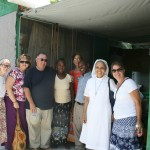 Our group with Jean Baptise and his wife