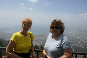 Jackie & Tanya at the Lookout